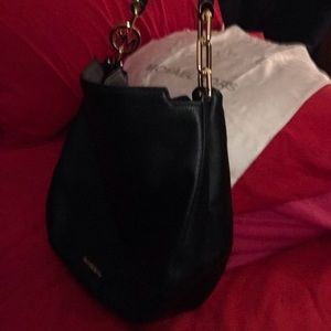 Michael Kors Bags - Michael Kors Lg Blk Leather Fulton Hobo bag. BNWT